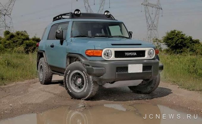 Toyota FJ Cruiser Trail Teams Ultimate Edition 2014 года